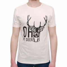 T-Shirt Deer White by R3lov
