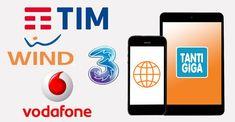 Le migliori offerte telefoniche con tanti GIGA per navigare su internet conTim, Vodafone, Wind e 3 Italia. Tariffe con più GIGA ricaricabili Dicembre 2017