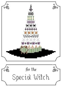 awesome free witchy cross stitch patterns