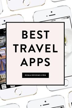 A handful of smart and beautiful apps to make your travels easier. : A handful of smart and beautiful apps to make your travels easier. Best Travel Apps, Solo Travel Tips, Packing Tips For Travel, Travel Advice, Travel Guides, Traveling Tips, Travel Hacks, London Travel, Travel Europe