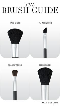 The right brush works wonders.