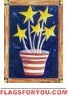 Growing Patriotism House Flag - 2 left