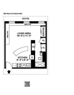 Chelsea Studio With Space-Saving Hacks Wants $495K - The Six Digit Club - Curbed NY