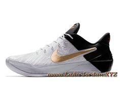 online store d7fb7 6f19b Nike Kobe A.D BHM Chaussures Officiel Prix Pour Homme Noir Kobe 8 Shoes,  Basketball Shoes