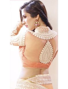 Sophie In Orange And Pink Weight Less Shaded Embroidered Saree