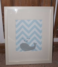 Printed Personalized Chevron Animal Wall Art for by TwoFishPrints