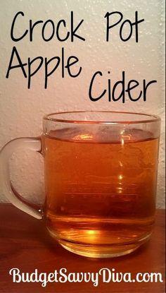 Crock Pot Apple Cider, #Apple, #Cider, #Crock, #Pot, #Simple