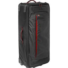 Manfrotto Bags Pro Light Rolling Organizer The Pro Light LW-88W PL rolling camera organizer is a medium-sized rolling organizer, built to provide the most lightweight high-protection storage and transportation solution for lighting gear. Designed to hold a variety of video or photo lighting kits, this case will withstand harsh use in any environment. #Manfrotto #Bags