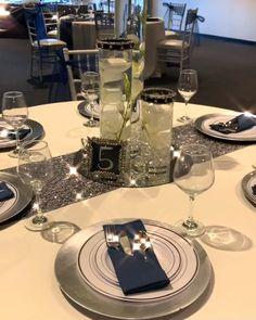 Best Indoor Garden Ideas for 2020 - Modern Diamond Theme, Diamond Party, Hawaiian Party Decorations, Birthday Party Decorations, 50th Birthday Party, Birthday Celebration, Birthday Ideas, Diamond Decorations, Table Decorations