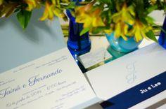 Convite de casamento Fernando & Tainã (wedding invitation)