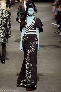 Asian Japanese Kimono Inspired Fashion 00420m