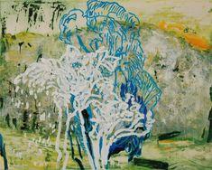 Blue Tree (Blauer Baum) by Hans Sieverding