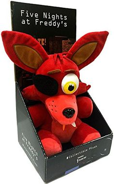 "Officially Licensed Five Nights At Freddy's 10"" Boxed Foxy Plush Toy. Brand new in official packaging. official five nights at freddy's product from sanshee. Dont be fooled by cheap fake products onli"