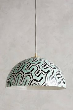 Winding Course Pendant Lamp - Anthropologie