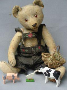 Antique teddy bear 1910 rare