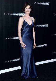 Anne Hathaway Wearing Richard Nicoll at Interstellar Premiere in Hollywood