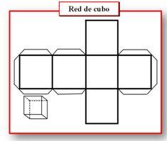 Redes de cuerpos geométricos Icarito