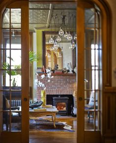 Make a statement with a restored Deco chandelier