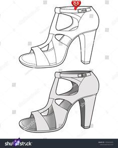 Shoes Footwear Design Fashion Flat Sketch 스톡 벡터(로열티 프리) 1355625455 SHOES footwear design fashion flat sketch template<br> Fashion Sketchbook, Fashion Sketches, Green Dress Shoes, Branded Shoes For Men, Best Basketball Shoes, Fashion Flats, Skirt Fashion, Kinds Of Shoes, Top Shoes