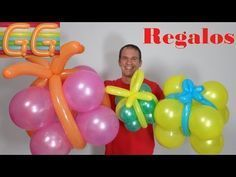 Como Hacer Globos Link Globoflexia Decoracion Con Globos - Como-hacer-flores-de-globos