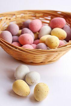 Mini-eggs!!!!!!!! Mini Eggs, Favorite Candy, Breakfast, Food, Hoods, Meals