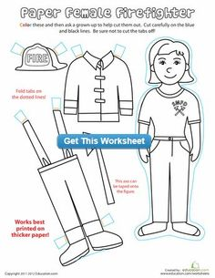 1000 Images About Fire Prevention Week On Pinterest Career Day Coloring Pages