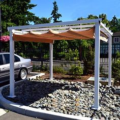 12 Outdoor pergola designs - If you are tired of bare look of your garden, beautify it with a pergola. Pergola will add an additional charm to your yard and area covered with pergola looks comfortable and tidy.