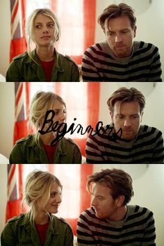 """""""—Well, I'm gonna have to kill you now. —Hm... why? —Because I'm falling in love with you.""""   Beginners (2010)"""
