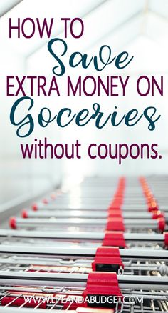 11 Easy Ways to Save Extra Money on Groceries Without Using Coupons. Grocery Saving Tips! via /lifeandabudget/ Make Quick Money, Ways To Save Money, Money Tips, Money Saving Meals, Save Money On Groceries, Grocery Savings Tips, Frugal Living Tips, Money Matters, Extra Money