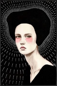 Freda - Sofia Bonati - Poster in kunststof lijst