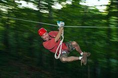 Hocking Hills Zipline Adventure!
