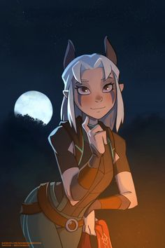 Rayla Dragon Prince, Prince Dragon, Dragon Princess, Rayla X Callum, Character Art, Character Design, Fanart, Sonic Fan Characters, Dungeons And Dragons Homebrew
