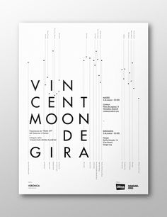 Vincent Moon de Gira by Naranjo—Etxeberria, via Behance
