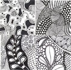Calm down and get your zentangle on - Zentangle is a self-help art therapy practice to enhance relaxation and focus. By Cathy Malchiodi.