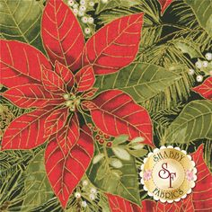 Woodland Christmas 24468-RED1 By Sandy Lynam Clough For Red Rooster Fabrics