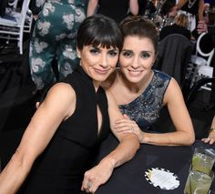 Actresses Constance Zimmer and Shiri Appleby attend the 22nd Annual Critics' Choice Awards.