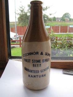 "Co Cork Ireland ""O Connor and Sons Kanturk Finest Stone Ginger Beer | eBay"