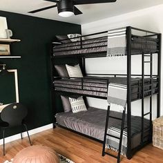 Because of Beddy's, we are grateful for no more banged up knuckles trying to tuck your covers in, no more waking up cold in the night, no more blankets on the floor and no more balled up sheets at the foot of the bed.  📷: @thewallsnest #zipperbedding #zipyourbed #beddys  #homedecor #boysroom  #boysroomdecor #kidsinterior  #kidsbedroom #kidsbedding #kidsdesign  #bedding #boystuff #boybedding #beddings Boys Room Decor, Kids Bedroom, Bedroom Decor, Bedroom Ideas, Kid Beds, Bunk Beds, Beddys Bedding, Zipper Bedding, Shared Bedrooms