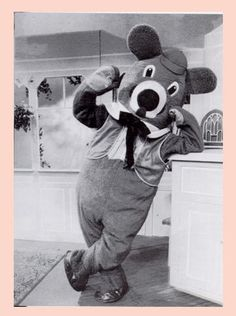 Dancing Bear from Captain Kangaroo..oh I just did a whoot! I loved Dancing Bear !