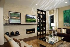 Rochester Hills Edition – Living Room Details