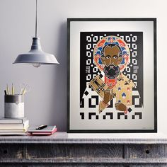 SAINT NICHOLAS Poster  by @tuttisantidesign just for today at a very special price!  25%off on #ArchiproductsShop!  #ApxAdvent #archiproducts