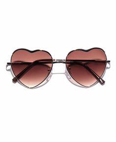 9b8e9b3c2e A.J. Morgan  Heart of Glass  Metal Frame Sunglasses makes Blondie play in  my head
