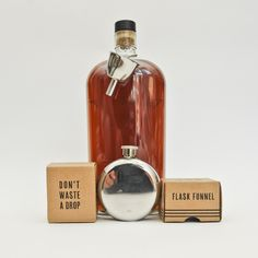 Your Chest Flask 5oz And Funnel  / Izola