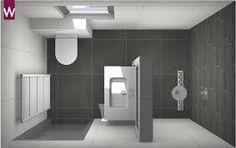 Afbeeldingsresultaat voor inloopdouche kleine badkamer