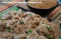 Ethiopian food - Check us out on Youtube we have 100s of videos in English and Amharic. Injera - Doro wot - Kitfo - Dabo - Shiro - Berbere - Gomen - Misir -  https://www.youtube.com/user/howtocookgreat/videos