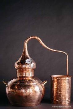 Handmade Copper Whiskey Still, 5 Gallon
