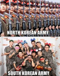 Differences Between The Two Koreas