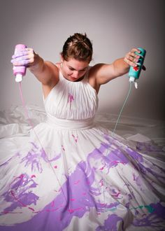 Here's an idea, Trash the dress #divorce