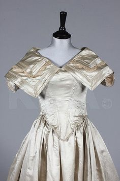 Wedding Dress, 1845, Kerry Taylor Auctions