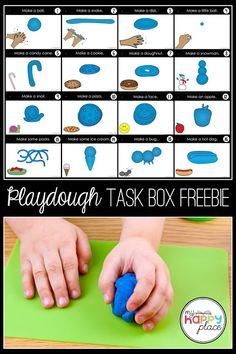 These task boxes are a great way to integrate fine motor skills into your school. Occupational Therapy Activities, Motor Skills Activities, Gross Motor Skills, Preschool Fine Motor Skills, Fine Motor Activities For Kids, Movement Activities, Physical Activities, Playdough Activities, Toddler Activities